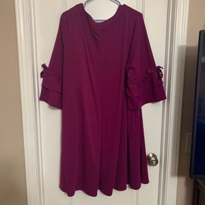 Pretty lightly used fuschia dress!